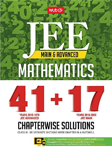 41+ 17 Years Chapterwise Solutions Maths for JEE (Adv + Main)