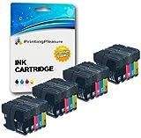 20 Tintenpatronen kompatibel zu LC1100 LC980 für Brother DCP-145C 165C 195C 197C 385C 585CW 6690CW MFC-250C 290C 490CW 5890CN 5895CW 6490CW 990CW J615W - Schwarz/Cyan/Magenta/Gelb, hohe Kapazität