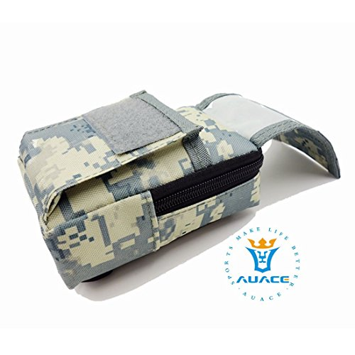 Multifunzione sopravvivenza Gear tattico Sacca Molle Pouch marsupio Detect, campeggio portatile Borse da viaggio Borse Sacchetti per attrezzi, MC ACU