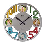 Giftadia Round Plastic Wall Clock (Multi...