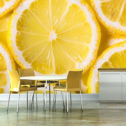 Zitronenscheiben Hintergr