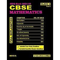 CBSE MCQ Bank Mathematics Class 10 Term 1