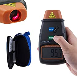 DivineXt Digital Laser Non Contact Photo Tachometer RPM Meter Professional DT-2234C+