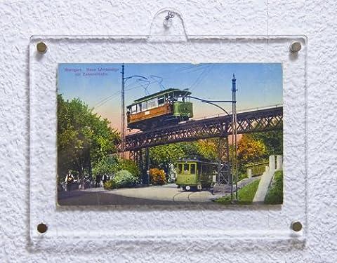 SORA Acrylrahmen mit Magnetsteckern für Fotos 10 x 15 cm;