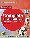 Complete first certificate. Student's book-Workbook. Without answers. Per le Scuole superiori. Con CD Audio. Con CD-ROM