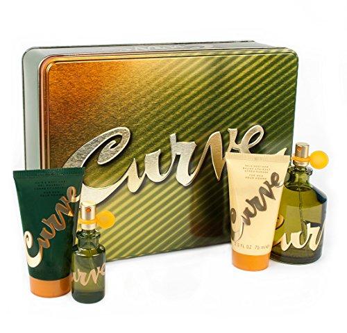 Liz Claiborne CURVE BY LIZ CLAIBORNE 4 PIECE GIFT SET FOR MEN