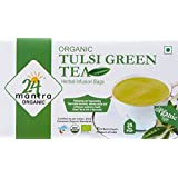 24 Mantra Tulsi Green Tea, 25 Bags