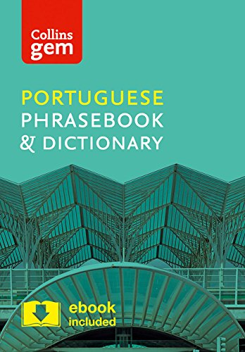 Collins Portuguese Phrasebook and Dictionary Gem Edition: Essential phrases and words in a mini, travel-sized format (Collins Gem)