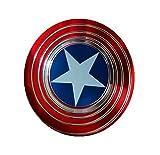 #6: KABEER ART Hypnotic Effect Hand Spinner EDC Toy Fidget Top Captain