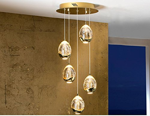LAMP Ø30 · ROCHER · 5 LED ORO