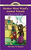 Mother West Wind's Animal Friends (Dover Children's Thrift Classics)