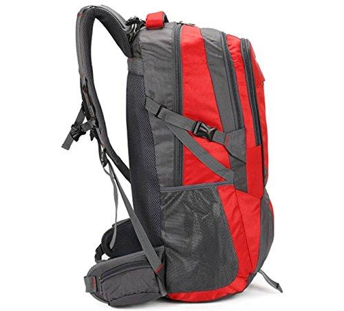 Zaino Da Esterno Borsa Da Viaggio Di Grandi Dimensioni Borsa Da Viaggio Borsa Da Viaggio Borsa Impermeabile Baggage Bag,UpgradedVersionOfDeepPurple80Liters SmallRed