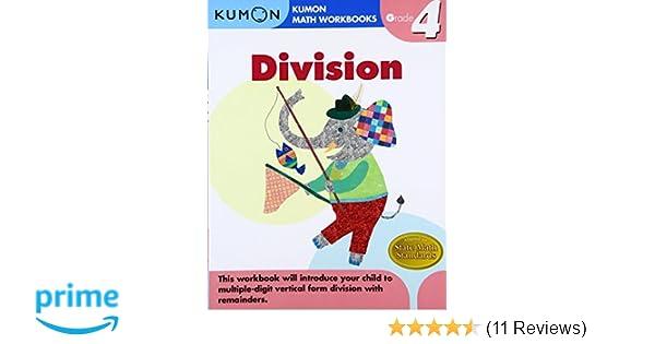 Grade 4 Division Kumon Math Workbooks Amazon Publishing