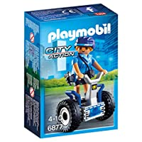 Playmobil 6877 City Action Policewoman with Balance Racer