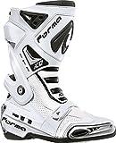 Forma Ice Flow Motorradstiefel 41 Weiß/Schwarz