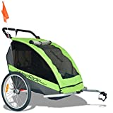 WeeRide Deluxe Trailer Fahrrad Kinder Anhänger Nachläufer Jogger