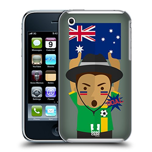 Head Case Designs Russia Viva Il Calcio Cover Retro Rigida per Apple iPhone 7 Plus / 8 Plus Australia