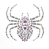"""Darice Gemstone Spider Sticker: 5.5"""""""