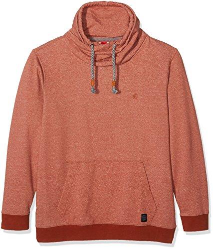 s.Oliver Big Size Herren Sweatshirt Orange (Navajo 29W0)