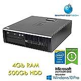 PC Compaq 8300 Elite i5-3470 4Gb Ram 500Gb SFF Windows 10 Pro con Licenza Simpaticotech MAR Microsoft Authorized Refurbisher (Ricondizionato) (RAM 4Gb HDD 500Gb)