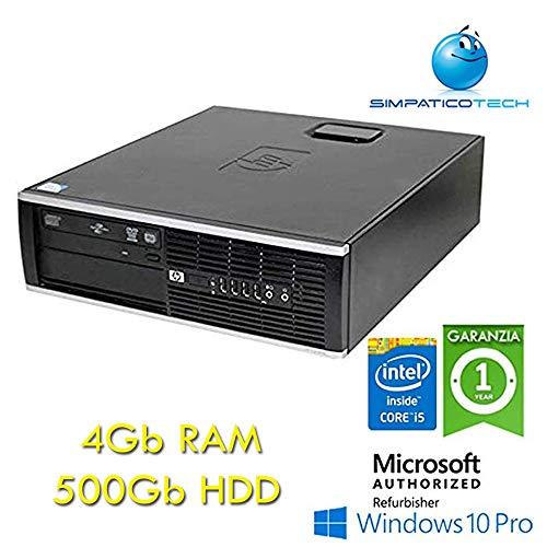 PC HP Compaq 8300 Elite Core i5 - 3470 3.2 GHz 4 GB RAM 500 GB DVD SFF Windows 10 Professional (Generalüberholt) - Hp Compaq-system
