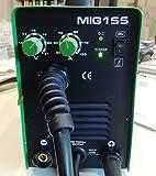 Hst Schweissgerät MIG MAG MMA 155 Amp Schweißgerät Schutzgas+Elektrodenschweißen