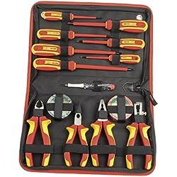 Mannesmann 11214 Mallette d'outillage électrique 14 pièces (Import Allemagne)