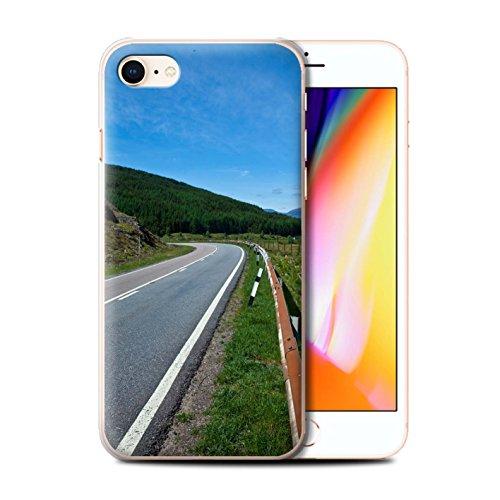Stuff4 Hülle / Case für Apple iPhone 8 / Loch/Felsen Muster / Schottisch Landschaft Kollektion Straße