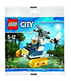 LEGO 30311 City: Swamp Police Helicopter Mini Set (IN KUNSTSTOFFBEUTEL), Mehrfarbig - LEGO