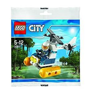 LEGO City: Swamp Police Helicopter Mini Set nel Sacchetto di plastica, Multicolore, 30311 0673419233705 LEGO
