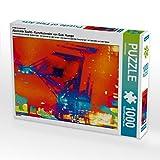 Gabi Hampe - Calendario astratto notturno, 1000 pezzi, puzzle trasversale