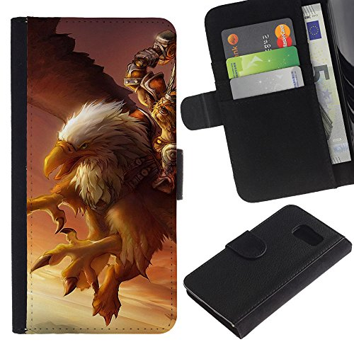 for-samsung-galaxy-s6-sm-g920s-typer-eagle-pc-game-mystery-gamer-giant-bird-dessin-pu-cuir-wallet-st
