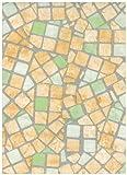 Pastel Mosaic Tiles Contact Paper