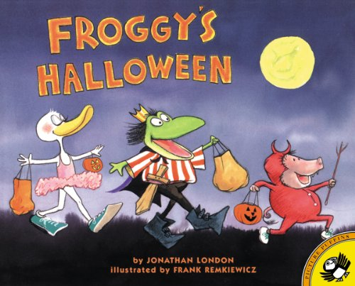 Froggy's Halloween (English Edition)
