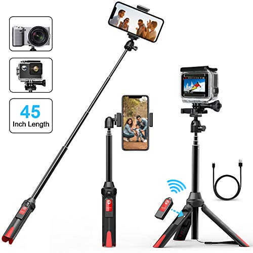 Perche Selfie, Matone 106CM Extensible Bluetooth...