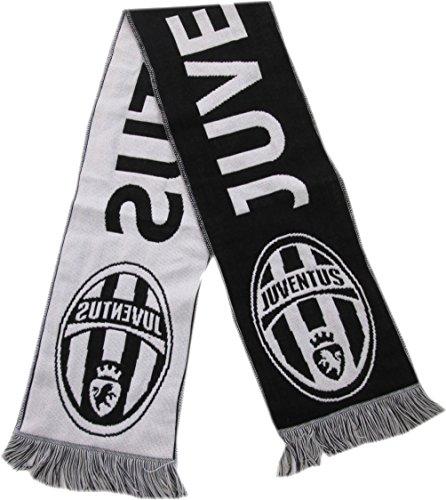 Bufanda Jacquard Juventus, 100% acrílico, 140 x 18 cm
