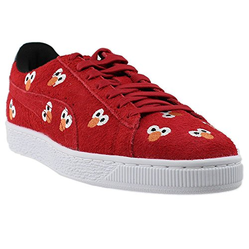 PUMA Select Men s x SESAME STREET Suede Sneakers  High Risk Red  10 5 D M  US