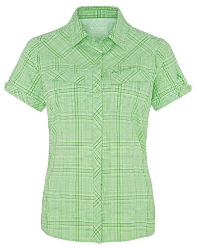 VAUDE Damen Bluse Women's Sarentino Shirt May Green