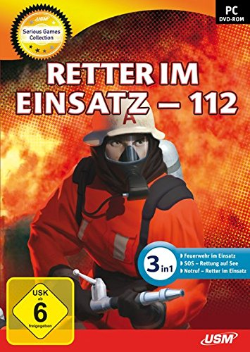 Serious Games Collection - Retter im Einsatz - 112 - [PC] (Polizei-simulation)