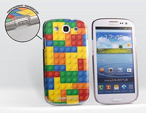 Cover rigida per Samsung Galaxy S3 / S3 neo, soggetto: Mattoncini...