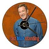 Last Man Standing Paul Allen CD Clock 12cm