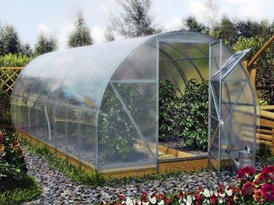 Polycarbonat Gewächshaus All Season bioproduktion 300cm x 600cm x 210cm