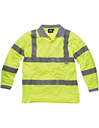 Dickies Workwear SA22077 Hi Vis - Polo de manga larga, SA22077