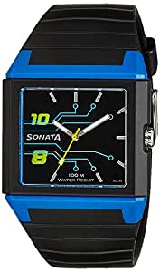 Sonata Ocean Analog Black Dial Men's Watch - NF7988PP03J
