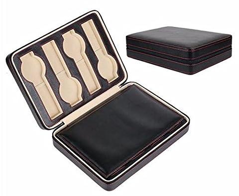 QPSSP Handmade Le Cuir, Des Montres, Des Boîtes, Des Montres, Des Boîtes De Collecte Des Boîtes Cadeaux D