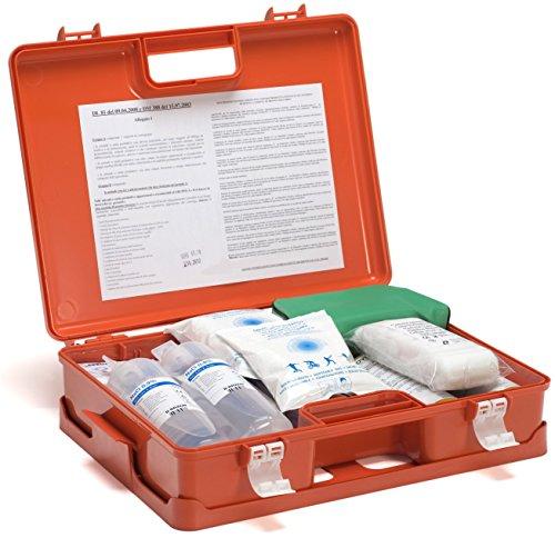 Ram apparecchi medicali cassetta di pronto soccorso a valigetta sicurmed - contenuto allegato 1 per più di 3 lavoratori