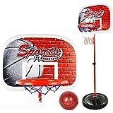 Finer Shop 50-147cm Niños del Deporte del Baloncesto Portátil Tablero de Baloncesto St...