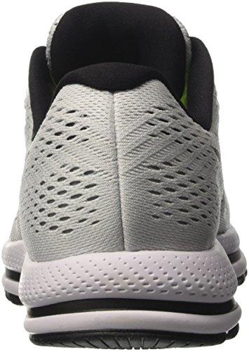 Nike Air Zoom Vomero 12, Chaussures de Course Homme Blanc Cassé (White/black/pure Platinum)