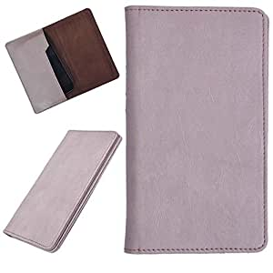 DCR Pu Leather case cover for Lava Iris 401E (veg)