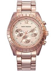 Mark Maddox MM3010-95 - Reloj de cuarzo para mujer, correa de acero inoxidable